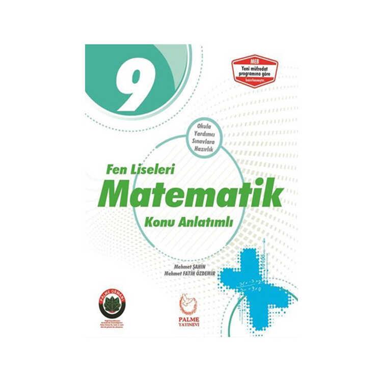 Palme Yayınları 9. Sınıf Fen Liseleri İçin Matematik Konu Anlatımlı