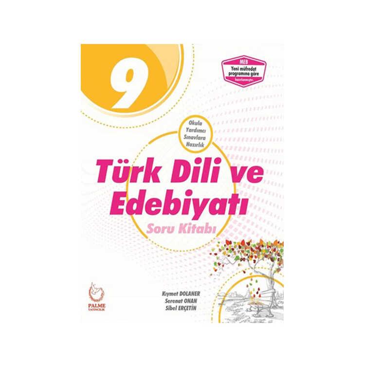 Palme Yayınları 9. Sınıf Türk Dili ve Edebiyatı Soru Kitabı