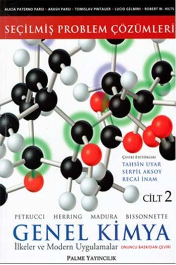 Palme Yayınları Seçilmiş Problem Çözümleri Genel Kimya Cilt 2 İlkeler ve Modern Uygulamalar