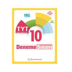 Palme Yayıncılık - Palme Yayınları TYT 10 Deneme Sınavı