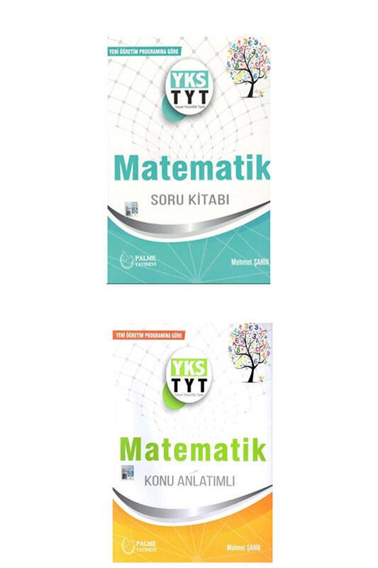 Palme Yayınları TYT Matematik Konu Anlatımlı ve Soru Bankası Seti
