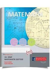 Pandül Yayınları - Pandül Yayınları 10. Sınıf Matematik Defteri