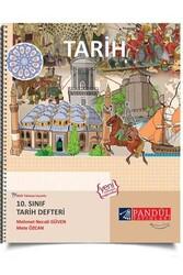 Pandül Yayınları - Pandül Yayınları 10. Sınıf Tarih Defteri