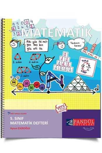 Pandül Yayınları 5. Sınıf Matematik Defteri