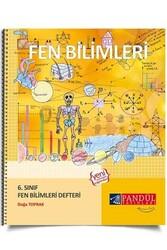 Pandül Yayınları - Pandül Yayınları 6. Sınıf Fen Bilimleri Defteri