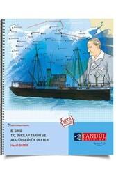 Pandül Yayınları - Pandül Yayınları 8. Sınıf T.C. İnkılap Tarihi ve Atatürkçülük Defteri