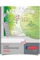 Pandül Yayınları - Pandül Yayınları 9. Sınıf Matematik Defteri