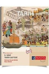 Pandül Yayınları - Pandül Yayınları 9. Sınıf Tarih Defteri