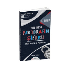 Paragrafın Şifresi Yayınları - Paragrafın Şifresi Yayınları 8. Sınıf LGS Yeni Nesil Paragrafın Şifresi Sözel Mantık Muhakeme