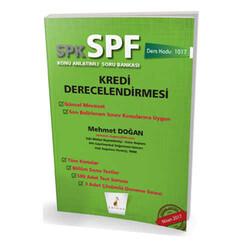Pelikan Yayıncılık - Pelikan Kitabevi SPK - SPF Kredi Derecelendirmesi Konu Anlatımlı Soru Bankası 1017