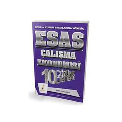 Pelikan Yayıncılık - Pelikan Yayıncılık 2018 KPSS ve Kurum Sınavlarına Yönelik ESAS Çalışma Ekonomisi 10 Çözümlü Deneme