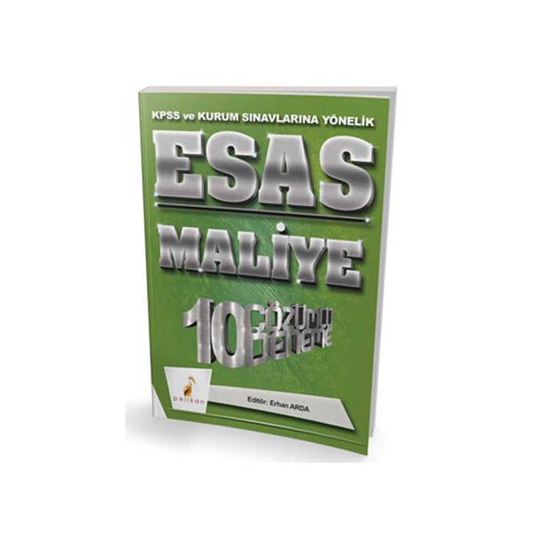 Pelikan Yayıncılık 2018 KPSS ve Kurum Sınavlarına Yönelik ESAS Maliye 10 Çözümlü Deneme