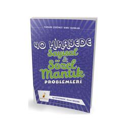 Pelikan Yayıncılık - Pelikan Yayıncılık 40 Hikayede Sayısal ve Sözel Mantık Problemleri Tamamı Çözümlü Soru Bankası