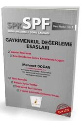 Pelikan Yayıncılık - Pelikan Yayıncılık SPK - SPF Gayrimenkul Değerleme Esasları Konu Anlatımlı Soru Bankası 1014