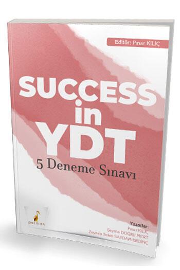 Pelikan Yayıncılık Success in YDT İngilizce Çek Kopart 5 Deneme Sınavı