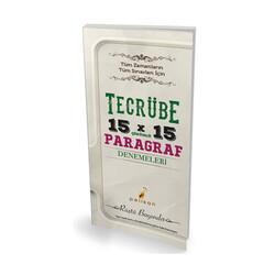 Pelikan Yayıncılık - Pelikan Yayıncılık Tecrübe 15x15 Çözümlü Paragraf Denemeleri