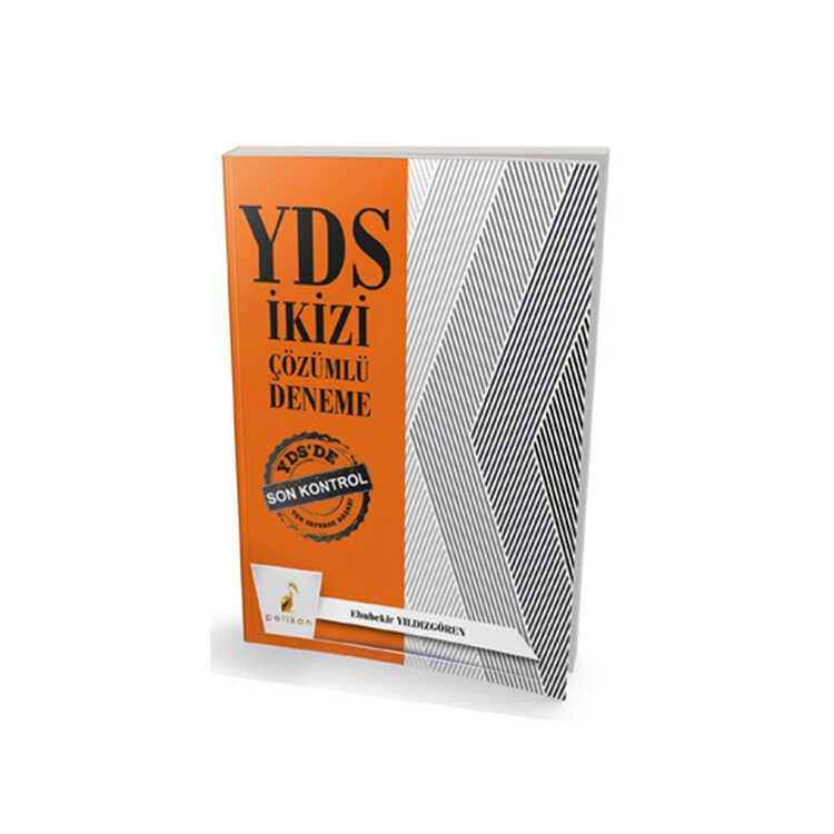 Pelikan Yayıncılık YDS İkizi Çözümlü Deneme