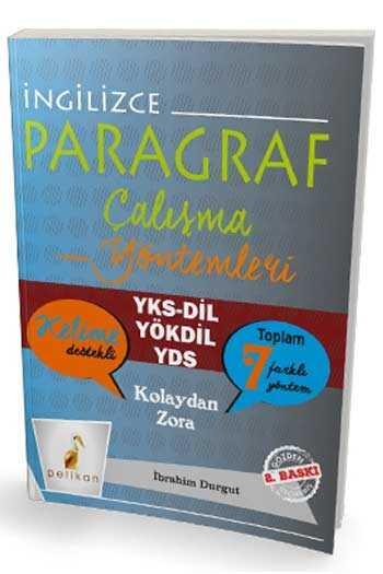Pelikan Yayıncılık YKSDİL YÖKDİL YDS İngilizce Kalıcı Paragraf Çözme Yöntemleri 2. Baskı