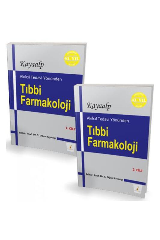 Pelikan Yayınevi Akılcıl Tedavi Yönünden Tıbbi Farmakoloji 1 ve 2 Cilt