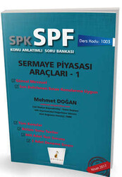 Pelikan Yayıncılık - Pelikan Yayınevi SPK - SPF Sermaye Piyasası Araçları 1 Konu Anlatımlı Soru Bankası 1003