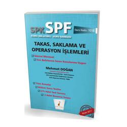 Pelikan Yayıncılık - Pelikan Yayınevi SPK - SPF Takas, Saklama ve Operasyon İşlemleri Konu Anlatımlı Soru Bankası 1012