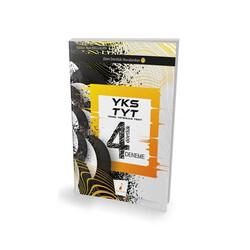 Pelikan Yayıncılık - Pelikan Yayınları 2019 YKS TYT Dört Dörtlük 4 Deneme Sınavı