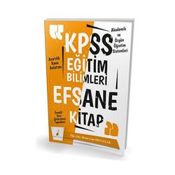 Pelikan Yayıncılık - Pelikan Yayınları 2020 KPSS Eğitim Bilimleri Efsane Tek Kitap Konu Anlatımlı