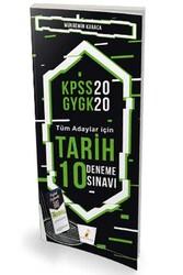 Pelikan Yayıncılık - Pelikan Yayınları 2020 KPSS Tarih Dijital Çözümlü 10 Deneme Sınavı
