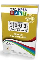Pelikan Yayıncılık - Pelikan Yayınları 2020 ÖABT Rehber Öğretmenliği 1001 Çözümlü Soru