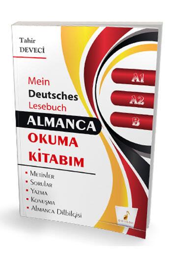 Pelikan Yayınları Almanca Okuma Kitabım A1 A2 B Seviyesi