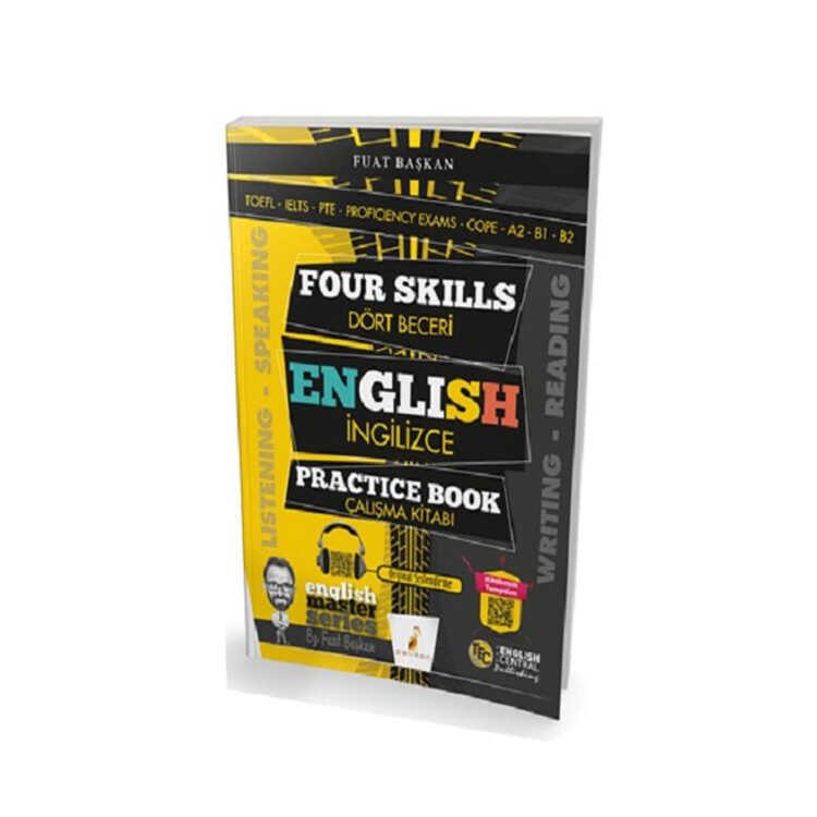 Pelikan Yayınları Four Skills English Practice Book Dört Beceri İngilizce Çalışma Kitabı