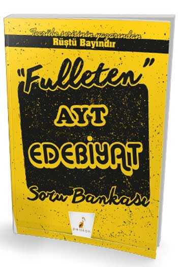 Pelikan Yayınları Fulleten AYT Edebiyat Soru Bankası