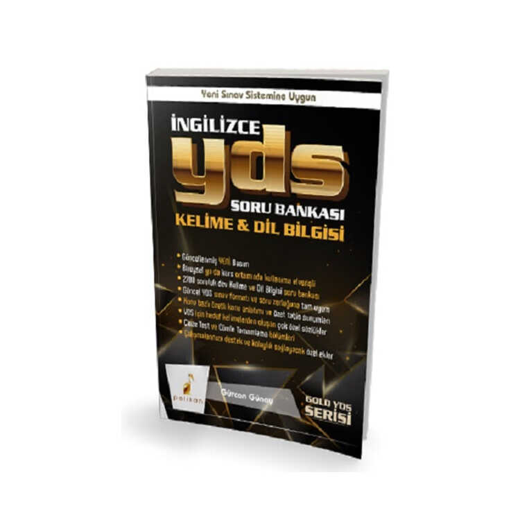 Pelikan Yayınları Gold Serisi İngilizce YDS Soru Bankası Kelime & Dilbilgisi
