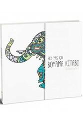 Pelikan Yayınları - Pelikan Yayınları Her Yaş için Çek Kopart Boyama Kitabı