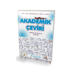 Pelikan Yayıncılık - Pelikan Yayınları İngilizce Akademik Çeviri Kelime ve Gramer Destekli