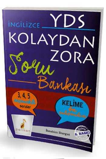 Pelikan Yayınları İngilizce YDS Kolaydan Zora Soru Bankası