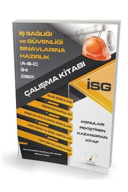 Pelikan Yayınları İSG İş Sağlığı ve Güvenliği Çalışma Kitabı