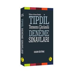 Pelikan Yayıncılık - Pelikan Yayınları Kelime ve Gramer Destekli TIPDİL Tamamı Çözümlü Deneme Sınavları