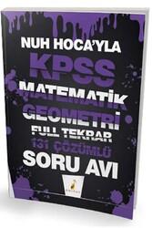 Pelikan Yayıncılık - Pelikan Yayınları Nuh Hocayla KPSS Matematik Geometri Soru Avı 131 Çözümlü Soru
