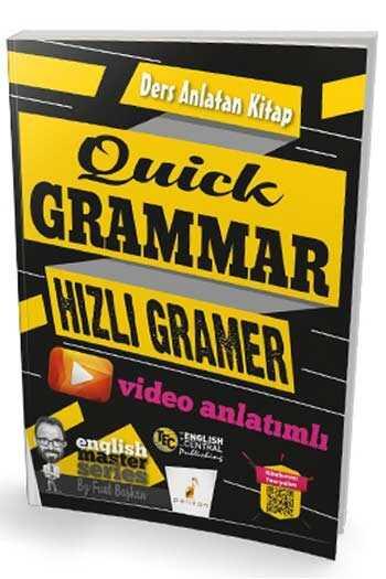 Pelikan Yayınları Quick Grammar Video Anlatımlı Ders Anlatan Kitap