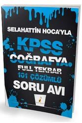 Pelikan Yayıncılık - Pelikan Yayınları Selahattin Hocayla KPSS Coğrafya Soru Avı 101 Çözümlü Soru