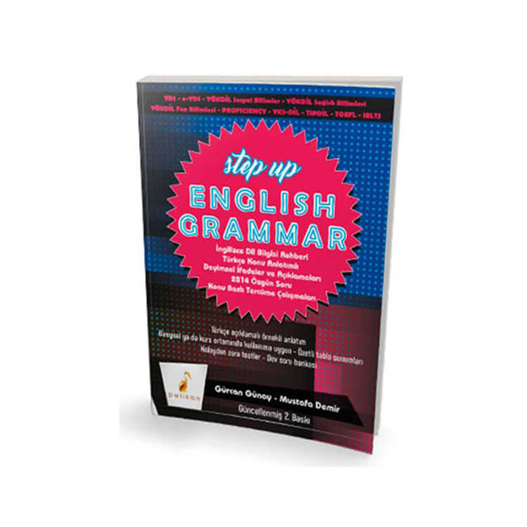 ​Pelikan Yayınları Step Up English Grammar