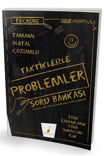 Pelikan Yayınları Tecrübe Taktiklerle Problemler Tamamı Dijital Çözümlü Soru Bankası