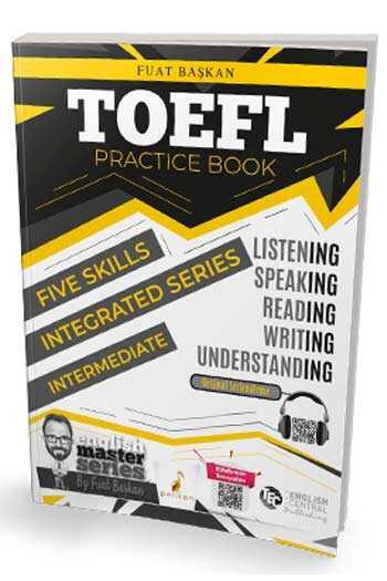 Pelikan Yayınları TOEFL Practice Book - Intermediate