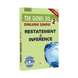 Pelikan Yayıncılık - Pelikan Yayınları TSK Genel Dil Dinleme Sınavı 2 Restatement Inference