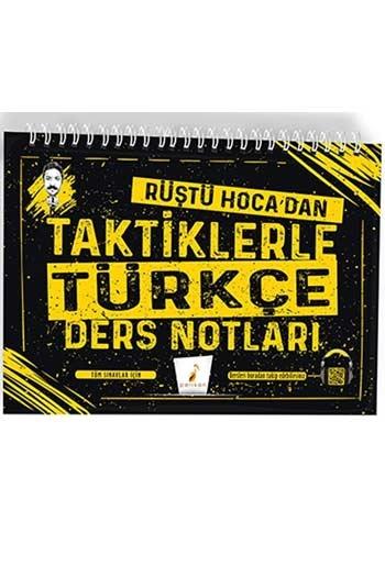 Pelikan Yayınları Tüm Sınavlar için Rüştü Hocadan Taktiklerle Türkçe Ders Notları