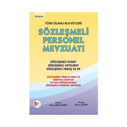 Pelikan Yayıncılık - Pelikan Yayınları Türk Silahlı Kuvvetleri Sözleşmeli Personel Mevzuatı