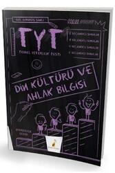Pelikan Yayıncılık - Pelikan Yayınları TYT Din Kültürü ve Ahlak Bilgisi Merdiven Serisi Soru Bankası