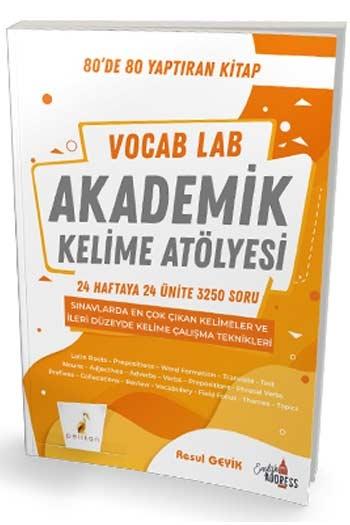 Pelikan Yayınları Vocab Lab Akademik Kelime Atölyesi