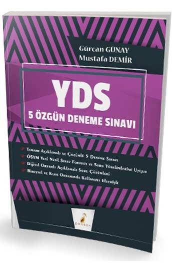 Pelikan Yayınları YDS Çek Kopart Dijital Çözümlü 5 Özgün Deneme Sınavı